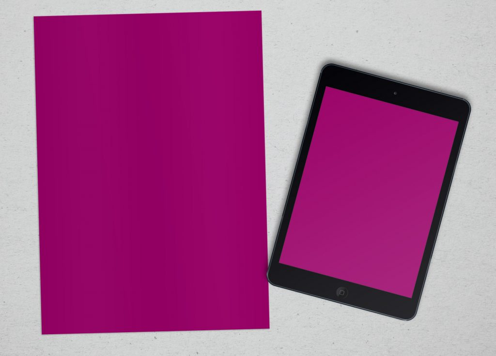 mock up, mocks, ebook, single sided business document that is viewed on a screen ipad as well as printed template showcasing portfolio demonstrating