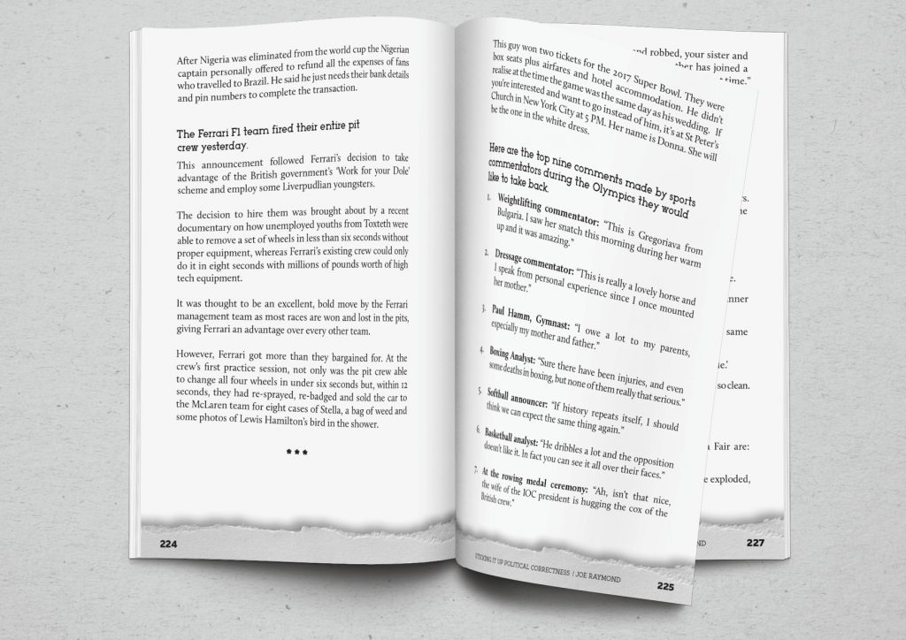 book interior page layout print design