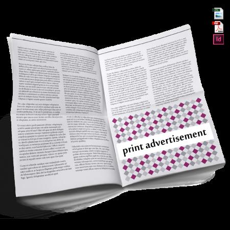 print ad design