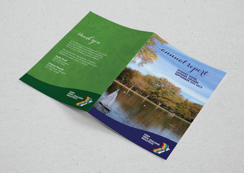 annual report design by professional graphic designer Lakazdi for conference cover design