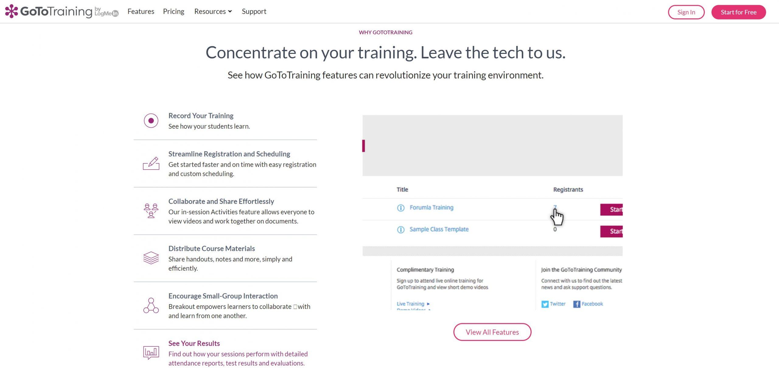 webinar online learning class room virtual solutions workshops