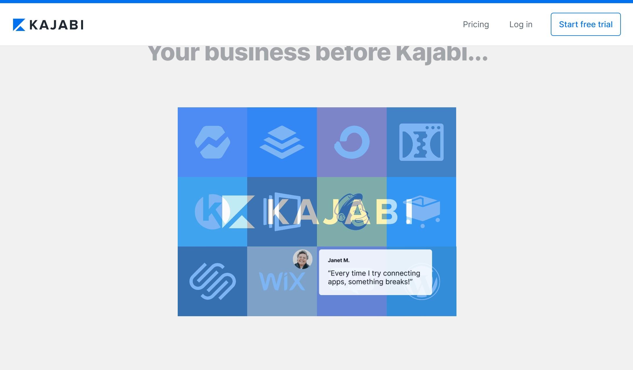 kajabi replace tools no integration needed