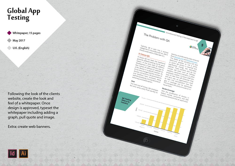 ipad interactive whitepaper design created by lakazdi portfolio sample of work