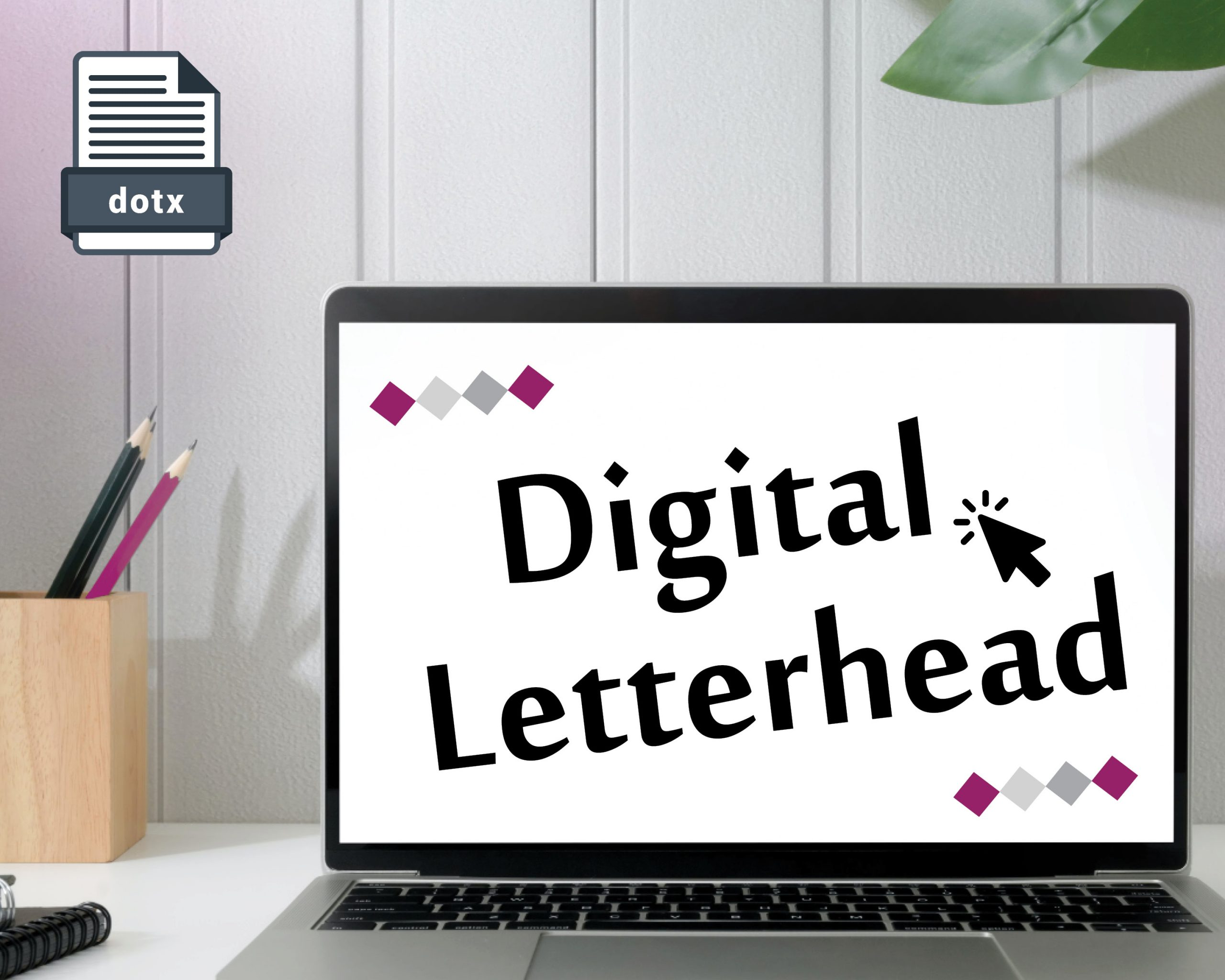professional letterhead template word digital type directly onto your letterhead