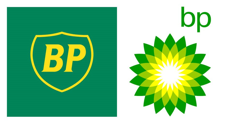 BP logo redesign