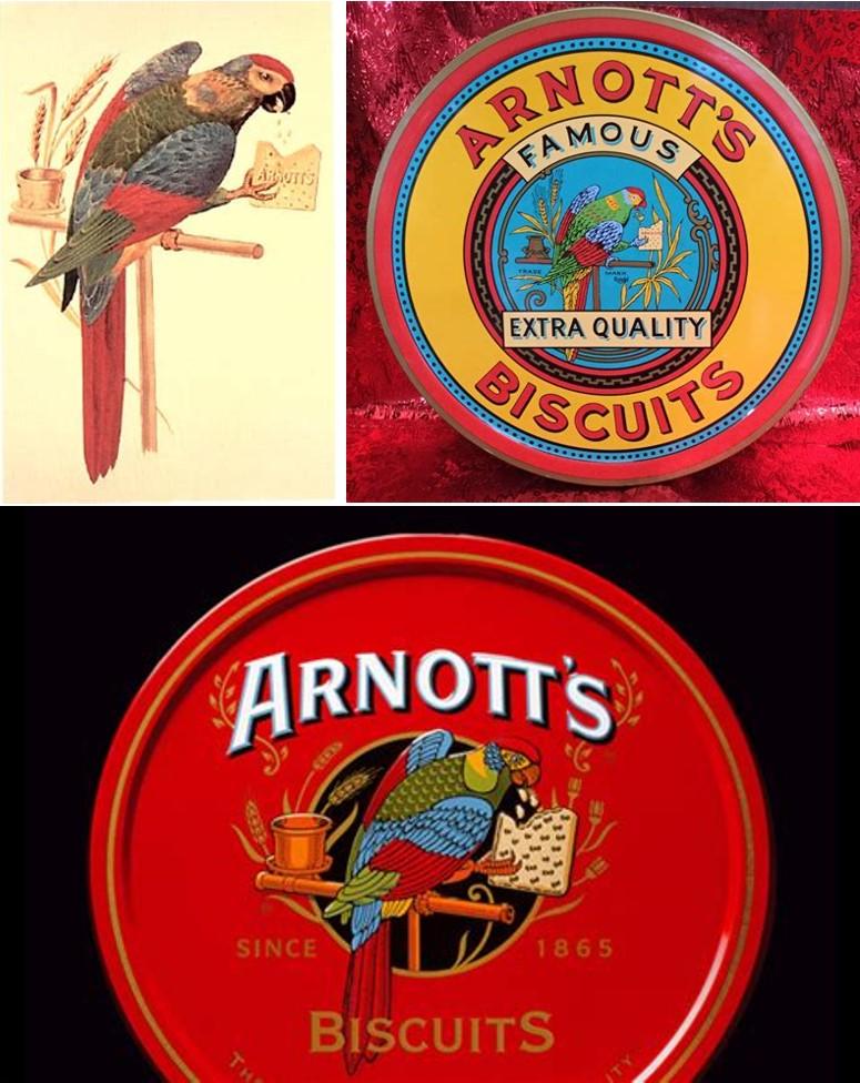 arnotts packaging over time