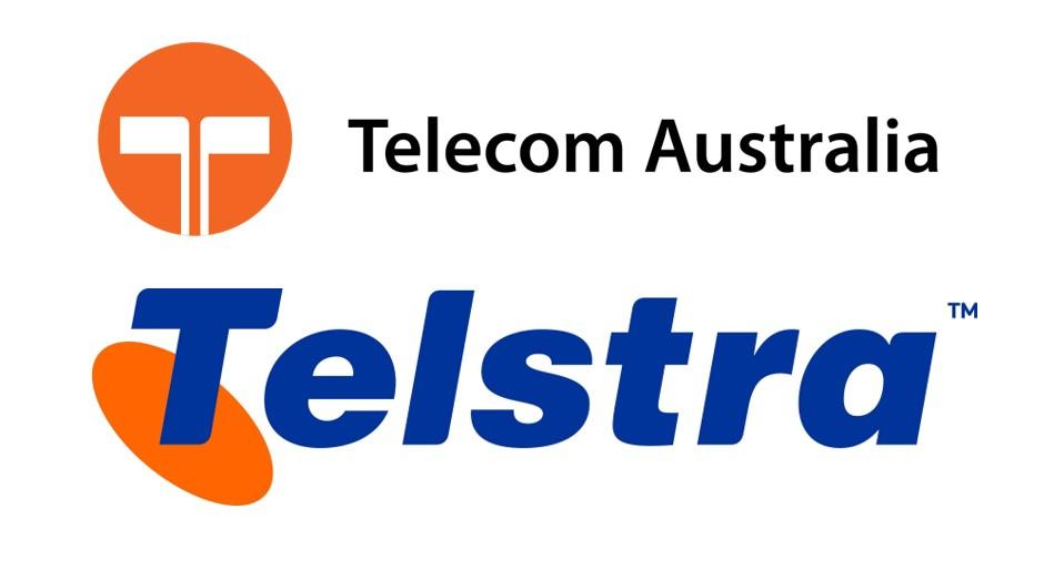 Telstra logo redesign