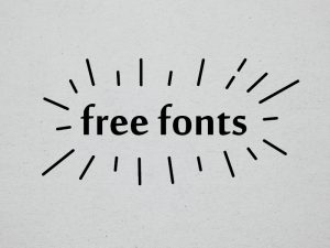 free fonts where to find typefaces commercial use personal use cheap branding document marketing brand logo business bottom line save money adobe google font squirrel advice graphic design professional designer brisbane Australia Lakazdi Kassandra Bowers