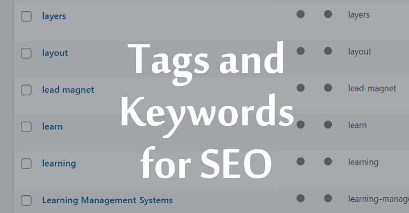 getting tags right for seo search engine optimization is very important  helpful, informative post by Kassandra Marsh at Lakazdi - Document design for business and marketing documents Brisbane Australia