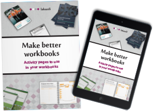 Kassandra Marsh professional workbook designer graphic design for workbooks so experts can pass their knowledge in workshops and with online courses