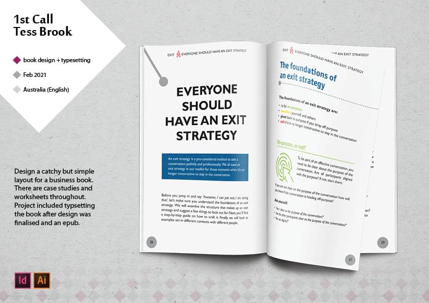 Business Book Design